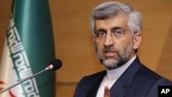 Iran's chief nuclear negotiator Saeed Jalili (file)