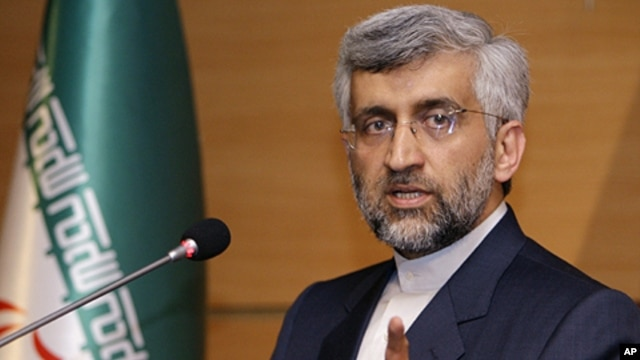 Iran's chief nuclear negotiator Saeed Jalili (file)