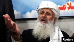 طالبان کے رابطہ کار پروفیسر محمد ابراہیم (فائل فوٹو)
