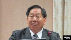 台湾国家安全局长 蔡得胜 (美国之音记者张永泰拍摄)