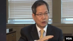 Chun Yung-woo, the top security official for outgoing South Korean President Lee Myung-bak.