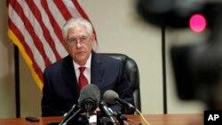 وزیر خارجه آمریکا در حاشیه دیدار روسای جمهوری آمریکا و چین در فلوریدا