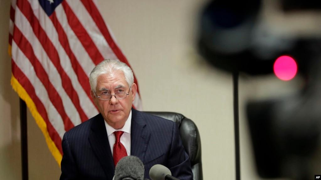Ngoại trưởng Hoa Kỳ Rex Tillerson