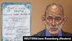 Dejvid Fauler, sudski vještak i svjedok odbrane na suđenju po optužbama za ubistvo Afroamerikanca Džordža Flojda (REUTERS/Jane Rosenberg)