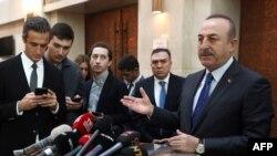 مولود چاووش اوغلو وزیر امور خارجه ترکیه - آرشیو
