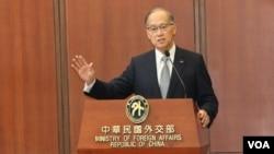 台灣外交部長李大維資料照。