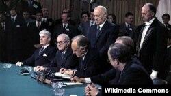 Hiệp định Paris được chính thức ký kết ngày 21/1/1973