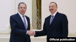 İlham Əliyev və Sergey Lavrov