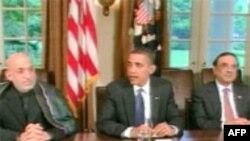 Встреча президентов США, Пакистана и Афганистана в Вашингтоне