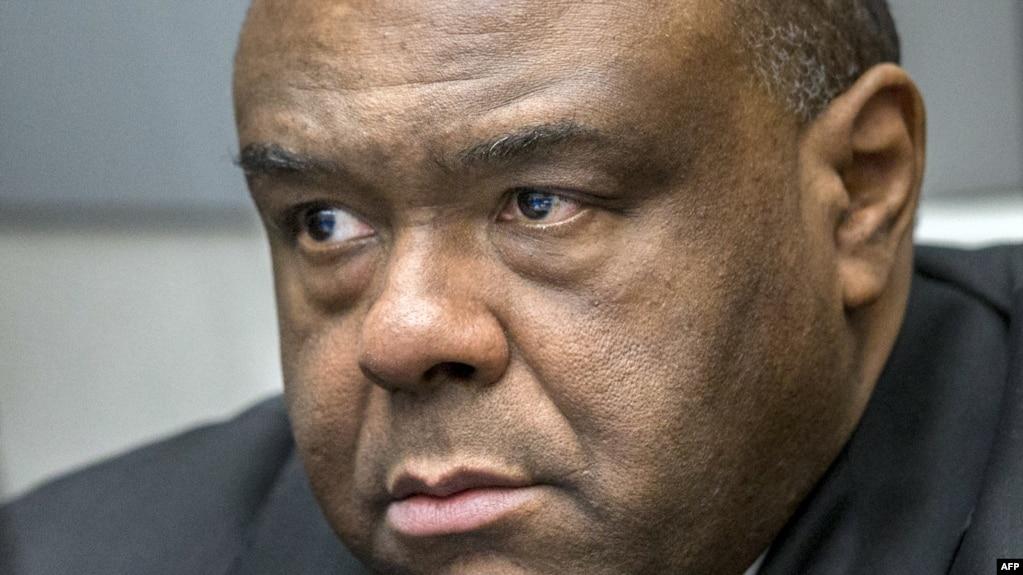 Jean-Pierre Bemba devant la cour de la CPI à La Haye, le 21 mars 2016.