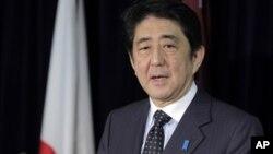 아베 신조 일본 자민당 총재. (자료사진)