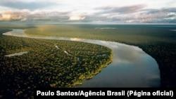 Rio Purus, afluente do rio Amazonas, Brasil