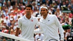 လက္ရွိခ်န္ပီယံ Djokovic နဲ႔ ၀င္ဘယ္လ္ဒန္ခ်န္ပီယံ ၇ ႀကိမ္ျဖစ္ဖူးတဲ့ Federer။