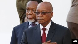 FILE -South African President Jacob Zuma.