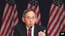 朱棣文星期三在美國大使館召開記者會