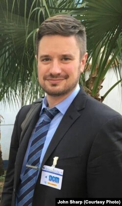Micheal Sharp, expert de l'ONU tué après son enlèvement dans la région du Kasaï central en RDC. (John Sharp)