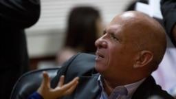 Hugo 'el Pollo' Carvajal en una imagen de archivo durante una comparecencia en la Asamblea Nacional de Venezuela, en Caracas, el 20 de enero de 2016.