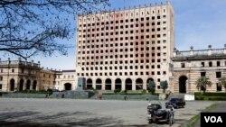Площадь Свободы в Сухуми. Абхазия (архивное фото)