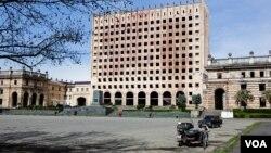 Площадь Свободы в городе Сухуми (архивное фото)