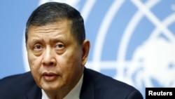 마르주끼 다루스만 유엔 북한인권 특별보고관 (자료사진)