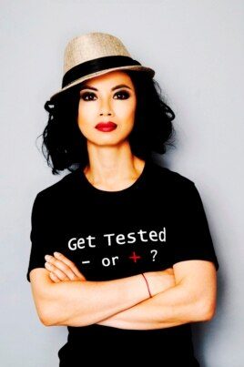 Cô Amazin Lethi, nhà hoạt động bênh vực quyền cho người nhiễm HIV/AIDS