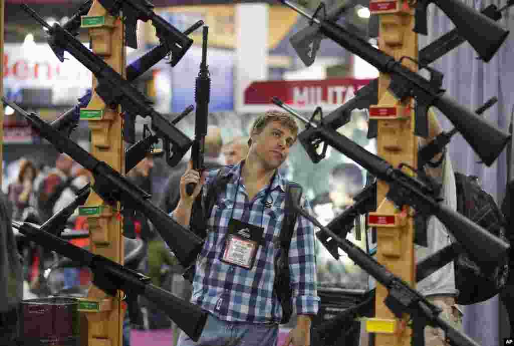 Enero. El debate sobre las armas no dejó nada en firme.