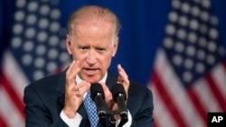 조 바이든 미국 부통령이 18일 미국진보센터 주최 행사에서 미국의 아시아 태평양 정책에 관해 연설했다.
