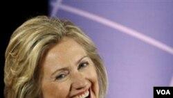 Sekretè Deta Ameriken an Hillary Clinton (AP Photo/Luis M. Alvarez)