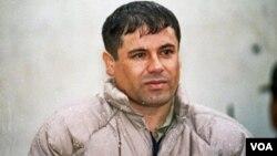 """El """"Chapo"""" Guzmán está fugitivo de la justicia desde que escapó de prisión en 2001."""