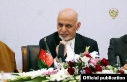 Prezident Ashraf G'ani Kobul anjumanining ochilish marosimida