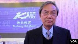 公民黨前秘書長鄭宇碩 ( 美國之音 湯惠芸拍攝)