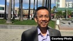 Tổng Giám đốc California Waste Solutions, ông David Dương (ảnh Bùi Văn Phú).