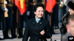 중국 시진핑 주석 부인 패션 화제