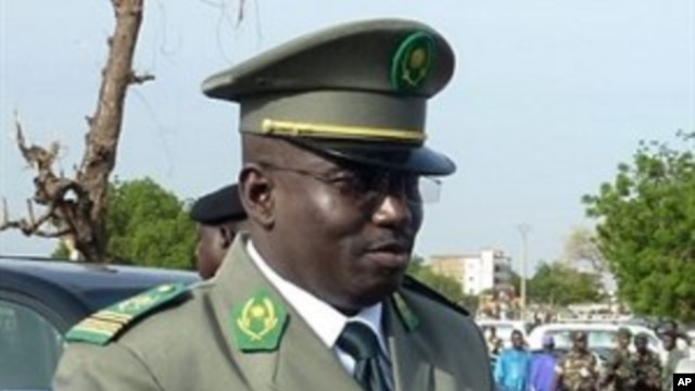 Niger's number two junta leader Colonel Abdoulaye Baide during ceremonies for the 50th anniversary of the country's independence in Niamey, 03 Aug 2010
