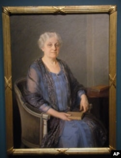 Carrie Chapman Catt, oil on canvas, by Mary Eliot Foote (National Portrait Gallery-Smithsonian Institution)