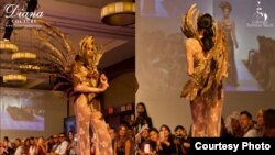 Karya Diana Couture pada New York Couture Fashion Week