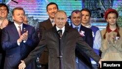 На фото: Путін у Севастополі у березні 2019-го року