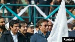 پرویز مشرف اور سابق وزیر اعلٰی پنجاب چوہدری پرویز الہٰی۔