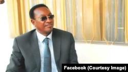 Bruno Tshibala, secrétaire général adjoint de l'Union pour la démocratie et le progrès social (UDPS), à Kinshasa, photo postée sur Facebook le 2 février 2017.