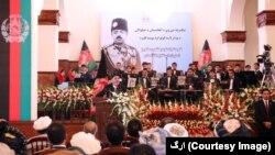 مراسم تجلیل از روز استقلال افغانستان امروز در ارگ برگزار شد