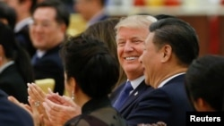 دونالد ترامپ رئیس جمهوری آمریکا پیشتر از دولت چین خواسته بود از نفوذ اقتصادی خود برای تحت فشار گذاشتن کره شمالی استفاده کند.