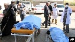 عراق: پولیس اسٹیشن کے باہر خودکش حملے میں 45 ہلاک