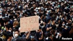 Hình ảnh cuộc biểu tình hôm 21/6/2019