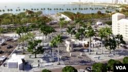 Nova Marginal de Luanda, vista do Hotel Continental