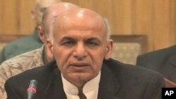 اشرف غني: افغان قواوې د امنیت انتقال ته چمتو دي