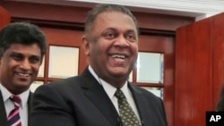 """Ông Samaraweera nói: """"Và chúng tôi muốn nâng quan hệ giữa hai nước chúng ta lên một mức thân hữu mới."""""""