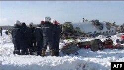 ۳۱ کشته در سقوط هواپیمای روسی در سیبری