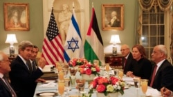Mideast Peace Talks Resume in Washington