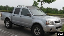 Nissan Frontier termasuk salah satu produk yang ditarik akibat cacat pada sistem pengapian.