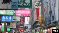 Kelompok pro-demokrasi garis keras menuntut hak pilih universal di wilayah Hongkong.